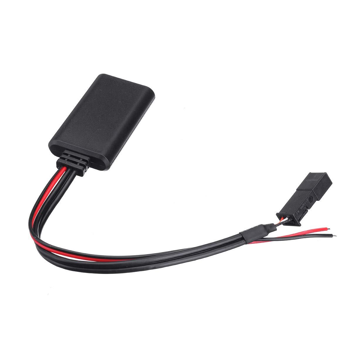 Adattatore Bluetooth per auto modulo Aux in cavo audio per BMW E39 E46 E38 E53 X5 Radio BM54