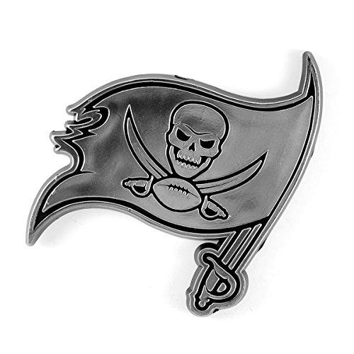 NFL Tampa Bay Buccaneers Chrome Automobile Emblem ()