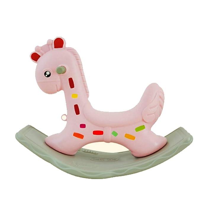 Mr.LQ Caballito balancin para Bebes Baby Rocking Horse Plastic ...