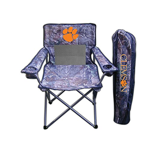 NCAA Realtree Camo Chair NCAA Team: Clemson
