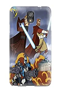High-quality Durable Protection Case For Galaxy Note 3(star Wars Clone Wars)