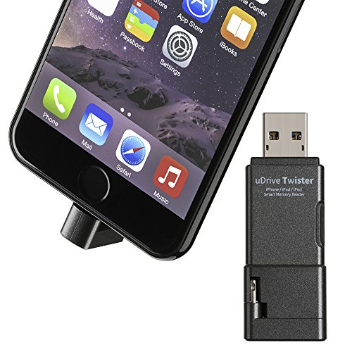 [Apple MFi Certified] USB 3.1 Lightning Micro SD Card Rea...