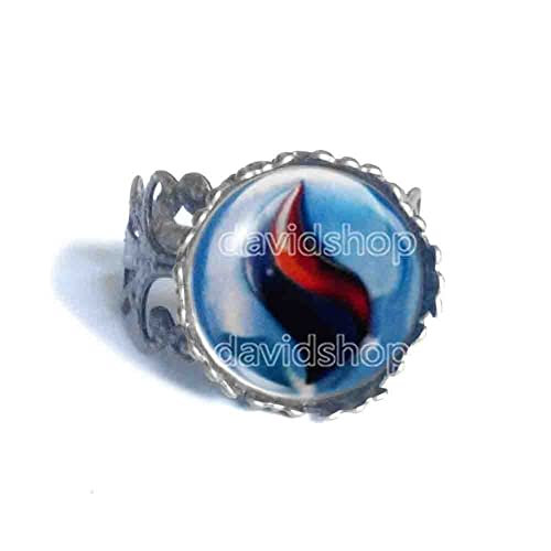 Amazon Pokemon Gengarite Mega Stone Ring Symbol Sign Fashion
