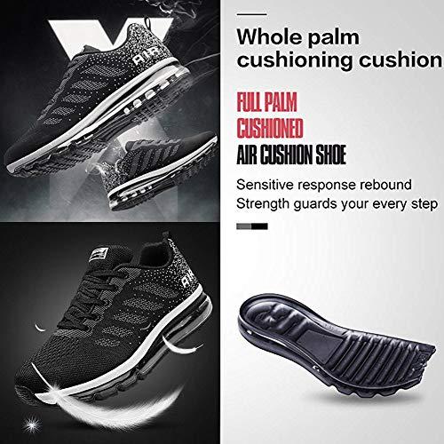 Uomo Da Scarpe Casual All'aperto Sneakers Donna Fitness Tqgold® Arancio Ginnastica Interior Corsa Running Nero Basse Sportive Unisex w5Iq1ttOUx