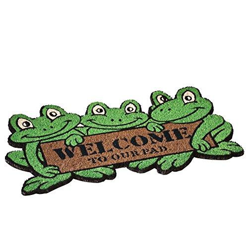 Frog Front Door Coco Mat