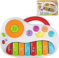 KiddoLab Toddler Piano and Learning Toy with DJ Mixer. Colorful Kids Musical Instruments and Educational Development Toy....