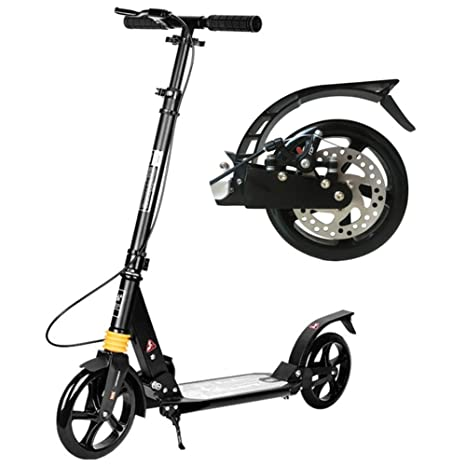 Patinete Adulto, Scooter de Patada para Adultos Plegable con ...