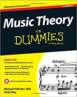 Music Theory For Dummies: Michael Pilhofer, Holly Day: 8601421977104