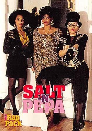 Salt N Pepa Trading Card Hip Hop Trio Dj Spinderella Push It 1991 Rap Pack 106 At Amazon S