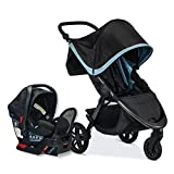Britax B-Free & Endeavors Travel System, Frost