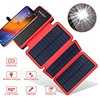 POWOBEST Solar Charger