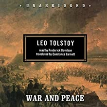War and Peace Audiobook by Leo Tolstoy Narrated by Frederick Davidson