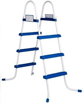 Escalera para piscina 1,22 m Intex: Amazon.es: Juguetes y juegos