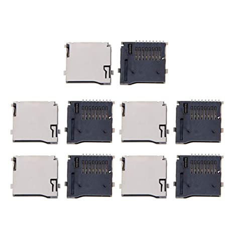 Zuanty - 10 adaptadores de tarjeta micro SD con conector PCB ...