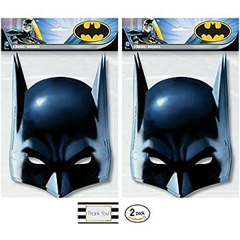 Batman Party Masks, 8 ct (2 Pack)
