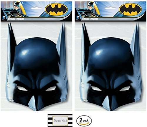 Batman Party Masks, 8 ct (2 (Batman Party Ideas)