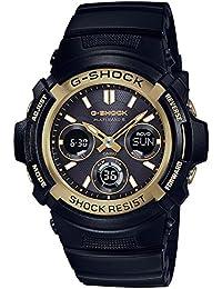 Casio Men's G-Shock Black solar watch