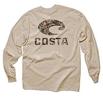 2059e40d Costa Del Mar Realtree Max-4 Camo Long Sleeve T-Shirt, Tan, XX-Large by Costa  Del Mar: Amazon.co.uk: Sports & Outdoors