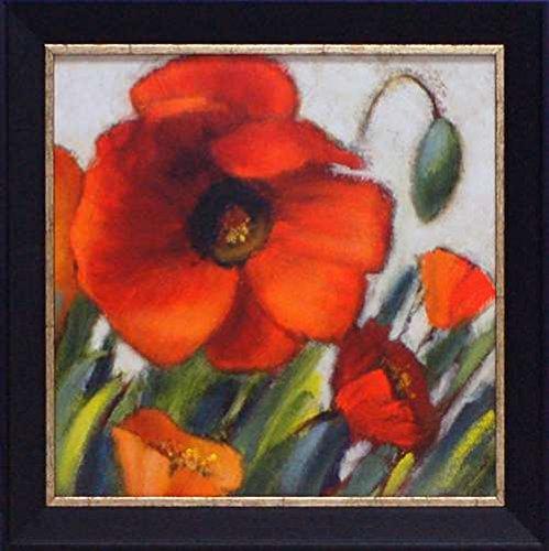 Artistic Reflections Poppy Splendor Square II Framed Art