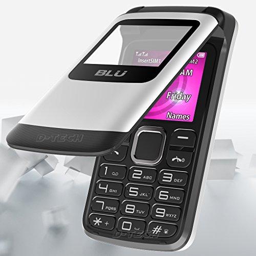 BLU Zoey Flex Z130 Factory Unlocked GSM Phone FM Radio Dual SIM MP3/4 Player New (White)