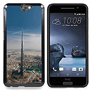 BullDog Case - FOR HTC ONE A9 - Architecture Dubai Skyscraper - Dise???¡¯???¡Ào para el caso de la cubierta de pl???¡¯????stico Chicas