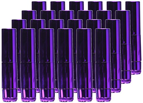 Pipedream Waterproof Lipstick Metallic Vibes 24 Piece Display by Pipedream (Image #1)