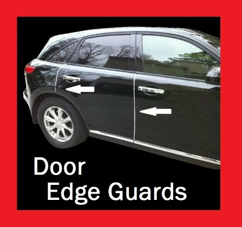 Hyundai Chrome Door Edge Guard Trim Molding All Models D.I.Y. Kit