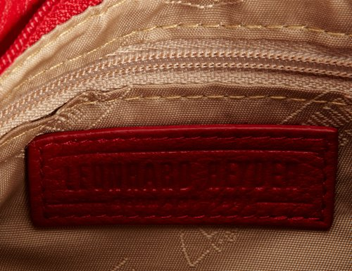 Leonhard Heyden LH3221-001 - Bolso al hombro para mujer Rojo