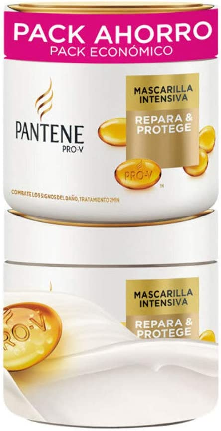 Pantene Masc Cap Pantene 2X300 Ml Repar/Proteg 6 Unidades 600 ml