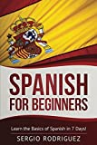 img - for Spanish for Beginners: Learn the Basics of Spanish in 7 Days book / textbook / text book