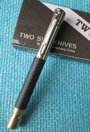 New Twosun Carbon Fiber Copper Titanium Tactical Office Pocket Pen TS-PEN06 by twosun