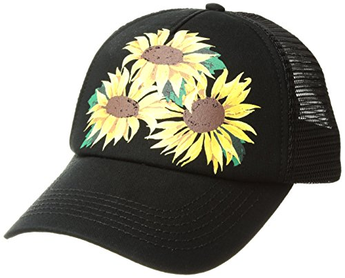 O'Neill Girls' Big Island Time Hat, Black, ONE