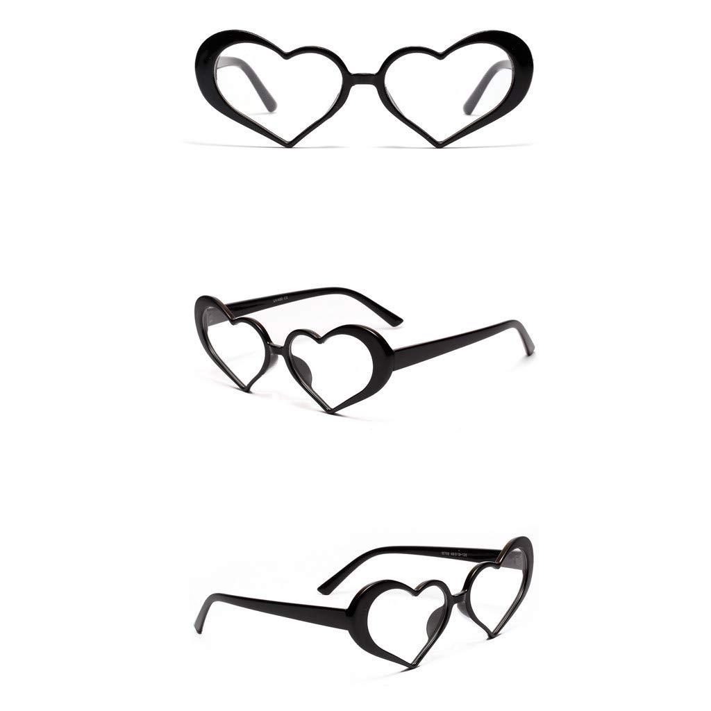 Alimao Women lovely Vintage Eye Sunglasses Retro Party Eyewear Fashion Radiation Protection Clearance sale