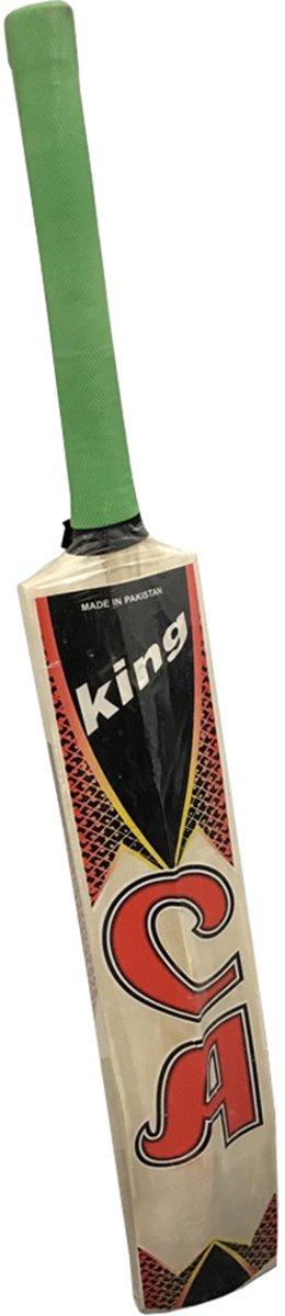 CA King Tapeball extérieur Street Batte de cricket Senior Taille complète