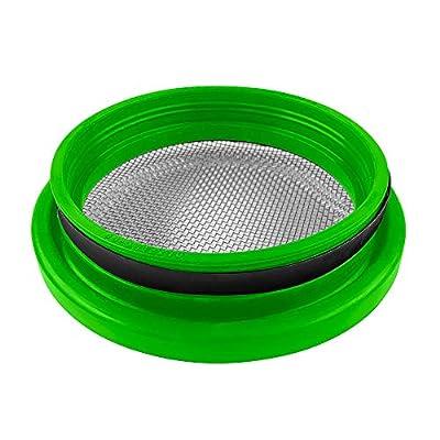 "S&B Filters 77-3006 Turbo Screen Mesh Guard (Lime Green, 4""): Automotive"