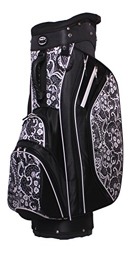 Hot-Z Golf Ladies 2017 3.5 Cart Lace Black - Cart Ladies Bags Golf