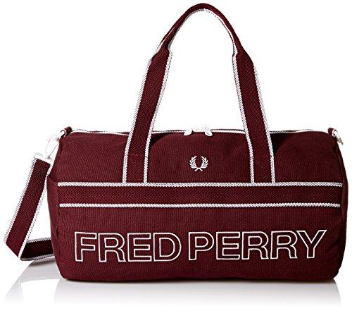 Fred Perry Men's Sports Canvas Barrel Bag ()