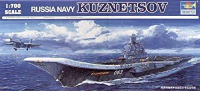 Trumpeter 1/700 Admiral Kuznetsov Russian Aircraft Carrier Model Kit
