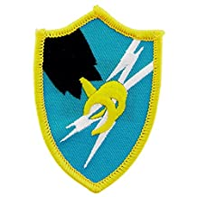 U.S. Army Security Agency Patch Blue & Yellow 3 by FindingKing