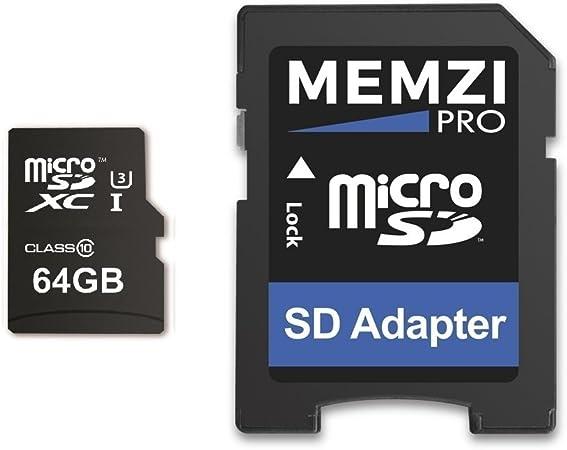 Memzi 64gb Micro Sdxc Memory Card For Huawei Mediapad Computers Accessories