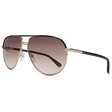 d77a859ff9 Image Unavailable. Image not available for. Colour  Tom Ford Cole Sunglasses  in Gold Dark Havana FT0285 52K 61