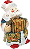 G. Debrekht Accordian Sant a Figurine, 6-Inch Tall,, used for sale  Delivered anywhere in USA