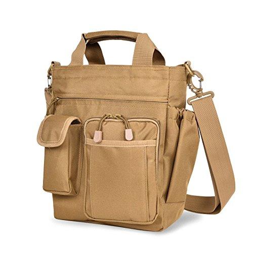 OME&QIUMEI Single Schultertasche Nylon Crossbody Bag Camouflage Oxford Tuch Geschäft Portable Multifunktionale Freizeit Tasche