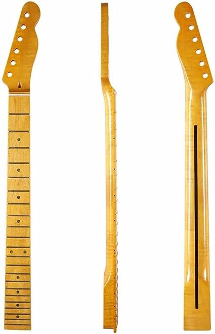 Dopro - Diapasón de arce con 22 trastes para guitarra, diseño de ...