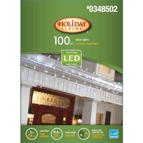 100 Led Dome Icicle Lights - 4