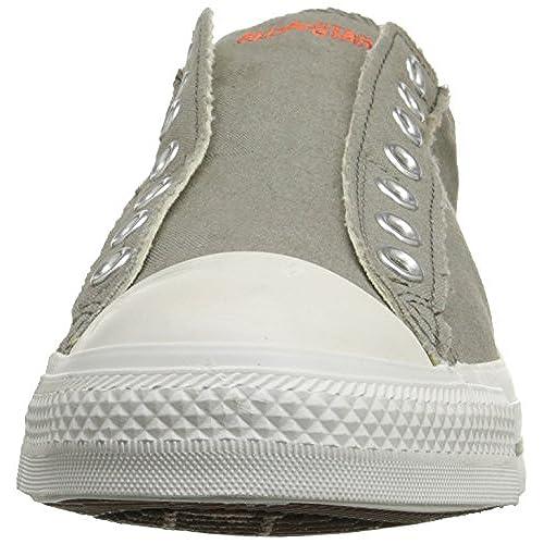 a7faeb1e30 Converse Kids Chuck Taylor All Star Slip Ox Charcoal/White ...