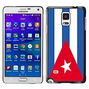 - Flag - - Fashion Dream Catcher Design Hard Plastic Protective Case Cover FOR Samsung Galaxy Note 4 Retro Candy