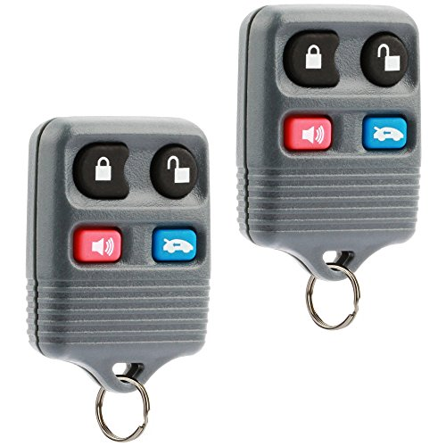 Car Key Fob Keyless Entry Remote fits Ford Crown Victoria / Lincoln Continental Mark VIII Town Car / Mercury Grand Marquis (CWTWB1U343), Set of 2