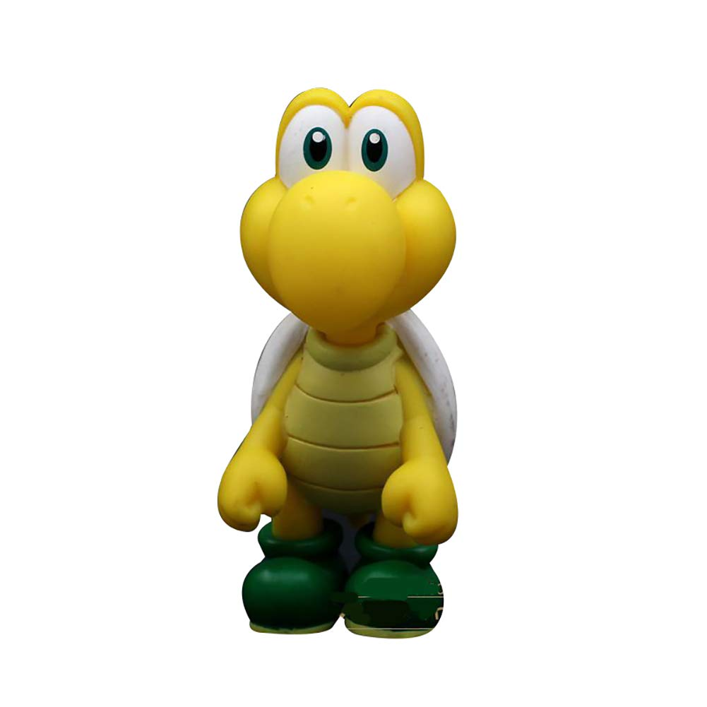 Super Maria Bros Super Luigi PVC-Puppe Dekoration 12,2 cm Schlafzimmer Dekoration PVC-Puppe Action Figuren tSuper Bros Super Luigi für Kinder und Erwachsene Geschenke C 45e9c1