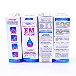 EMdrops-Electrolyte/Mineral drops.600 servings!! Liquid Calcium Magnesium Potassium supplement for Heart, Bone & Women health. Aid sports, workout fatigue recovery, cramps & Keto diet. Sugarfree.